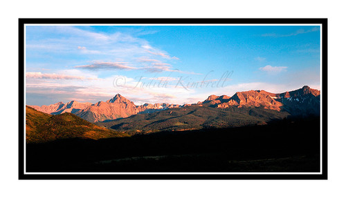 San Juan Mountains in Summer, Colorado 159