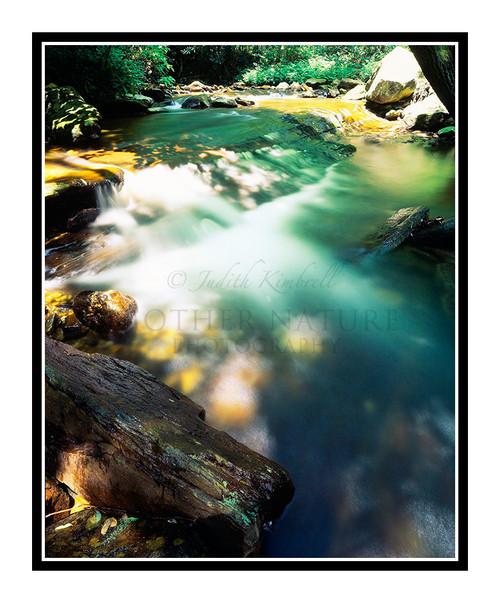 Smokey Mountain Waterfall, North Carolina 115