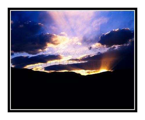 Sunset Rocky Mountain Skyline in Colorado Springs, Colorado 55