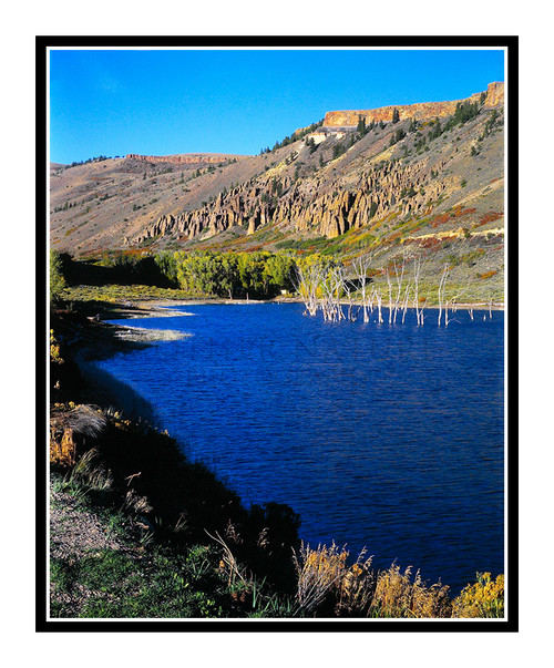 Blue Mesa Reservoir at Sunset in Colorado 23