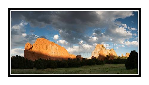 Garden of the Gods Colorado Springs, Colorado 2803pano