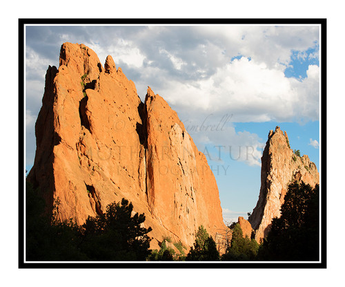 South Gateway Rock in Garden of the Gods in Colorado Springs, Colorado 2799