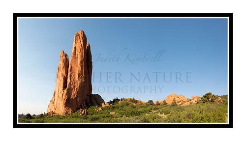 Tower of Babel in Garden of the Gods in Colorado Springs, Colorado 2811