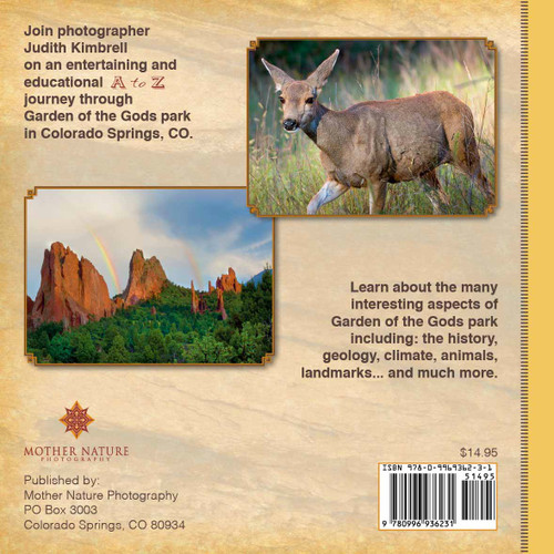 Hardback Book Garden Of The Gods A To Z