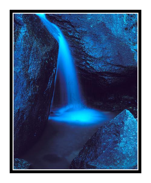 Waterfall in Green Mountain Falls, Colorado 127