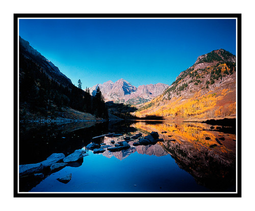 Maroon Bells Snowmass Wilderness in Autumn 188