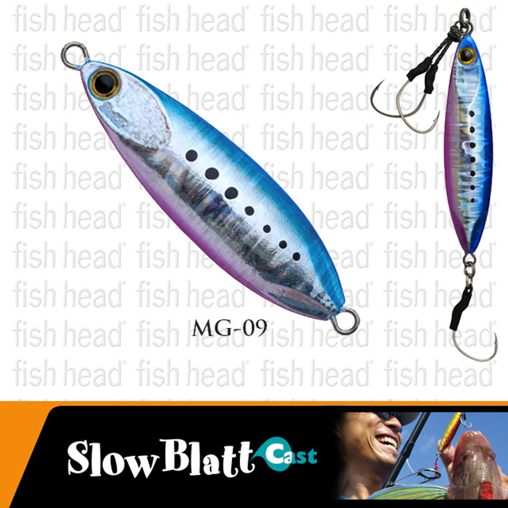 Angler's Republic Zetz- Slow Blatt Cast- Wide 40g