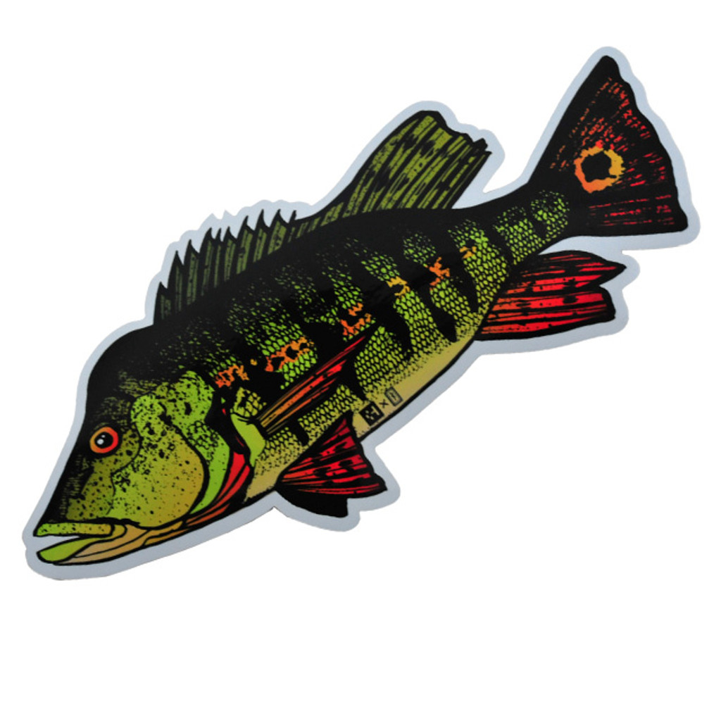 Huerco Peacock Bass Sticker