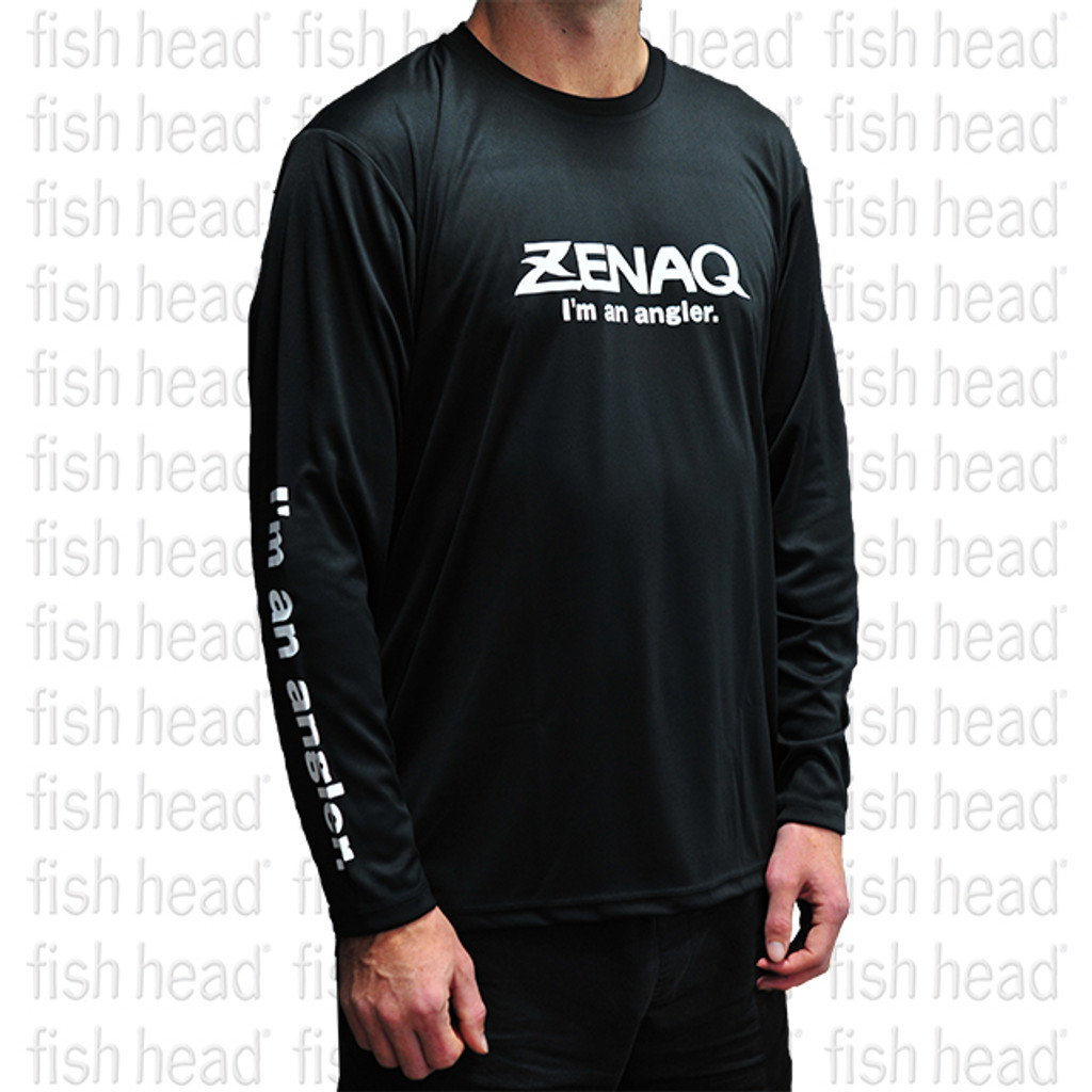 Zenaq Long Sleeve Dry T - Black