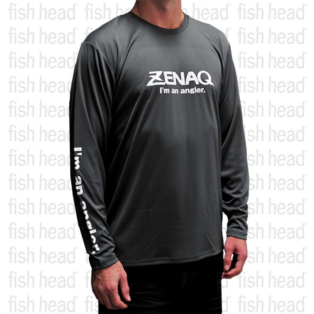 Zenaq Long Sleeve Dry T - Dark Gray