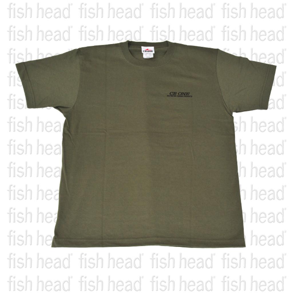 CB One Yellowfin T Shirt  - Army Green