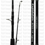 Zenaq Expedition EP55-14B Over Head Travel Jigging Rod