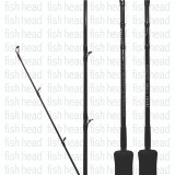 Zenaq Ikari Jig FB63-3 Over Head Jigging Rod