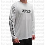 Zenaq Long Sleeve Dry T - White