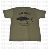 CB One Yellowfin T Shirt  - Army Green