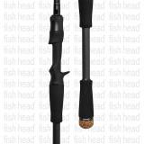 Zenaq Spirado Blackart B4.5-72 Biwa Spec Baitcast Rod