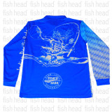 ASWB Long Sleeve Shirt Blue Neptune
