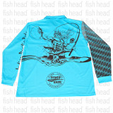 ASWB Long Sleeve Shirt Aqua Neptune