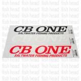 CB One 20cmx4.5cm Sticker