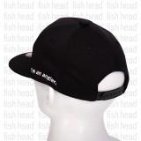 Zenaq Flat Visor Cap Coolvital fabric Black