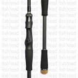 Zenaq Spirado Blackart B79 Cover PE Baitcast Rod