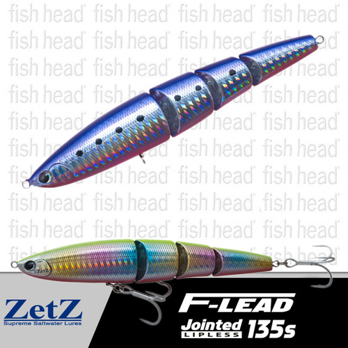 Anglers Republic Zetz- F-Lead Jointed Lipless 135s