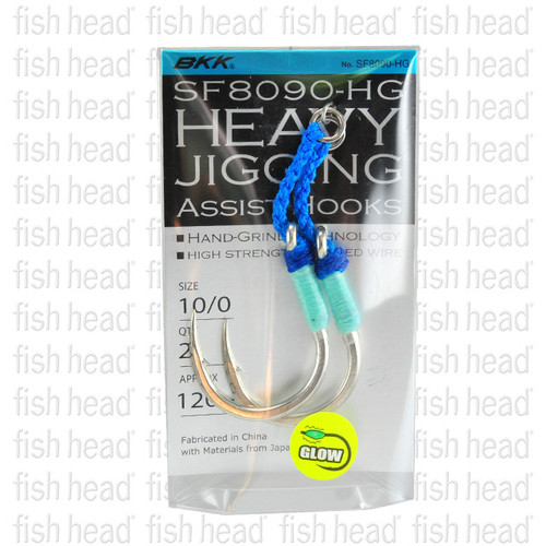 BKK Heavy Jigging Assist Hooks SF8090-HG