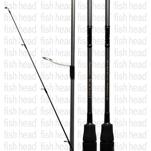 Zenaq Spirado Blackart S0-70L Wide Shooter Spin Rod