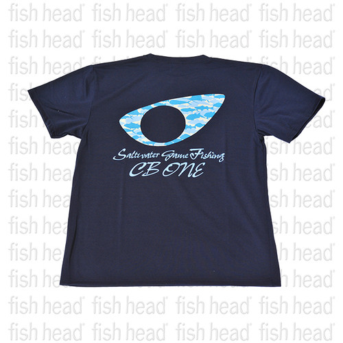 CB One Camo Eye T-Shirt- Navy