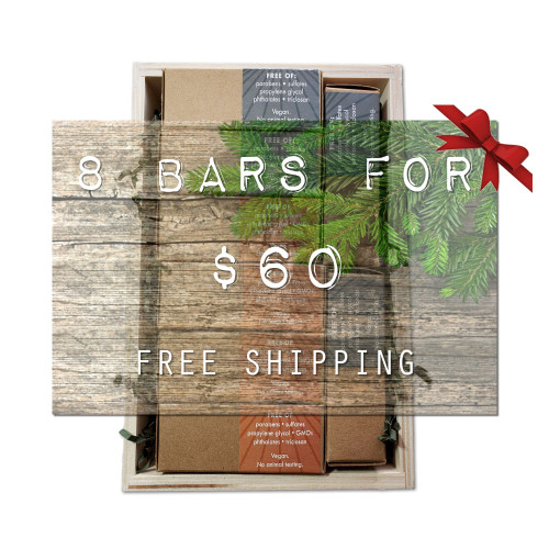SUPERFAT SOAP 8 Crate Gift Box