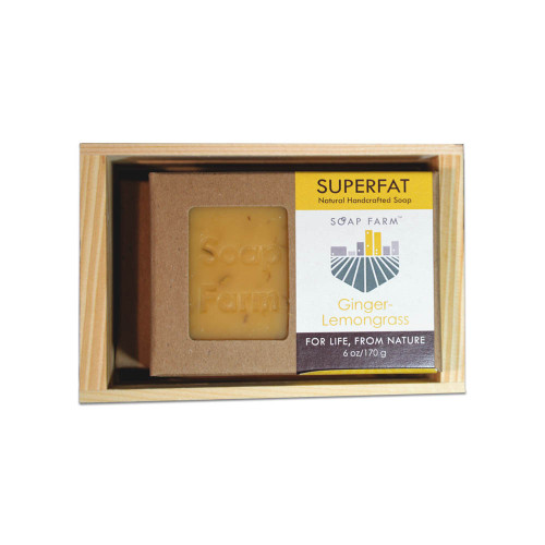 Superfat Soap 2 6 oz Bar Gift Crate