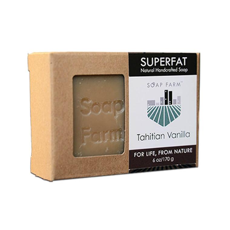 SUPERFAT Natural Handcrafted Soap Tahitian Vanilla