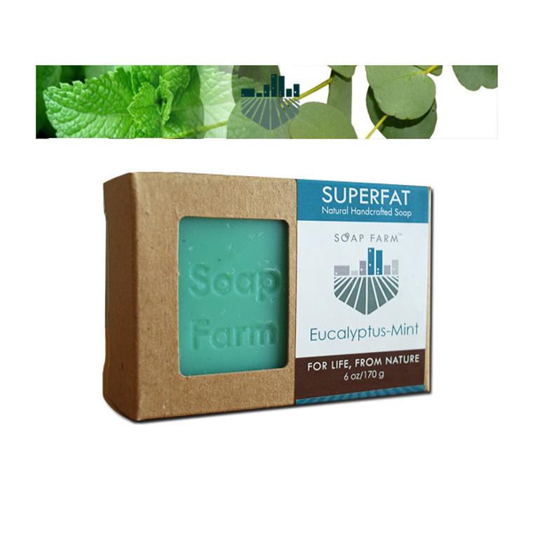 SUPERFAT Natural Soap Eucalyptus-Mint