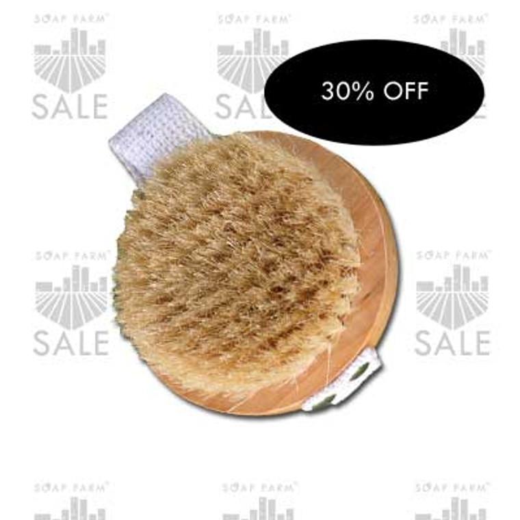 Round Boars Hair Bath Brush SALE
