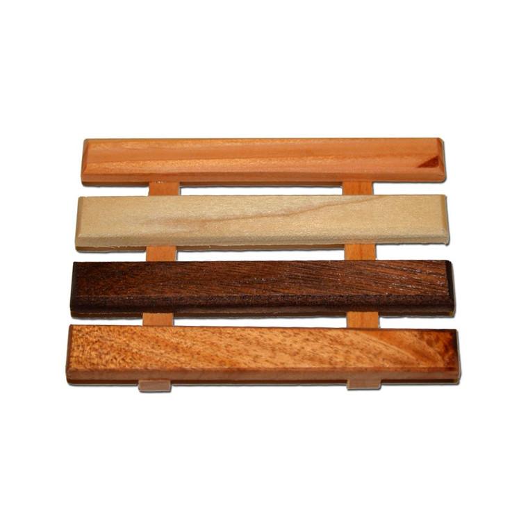 Handmade reclaimed wood soap dish