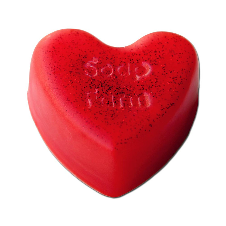 Glycerin Handcrafted Heart Soaps