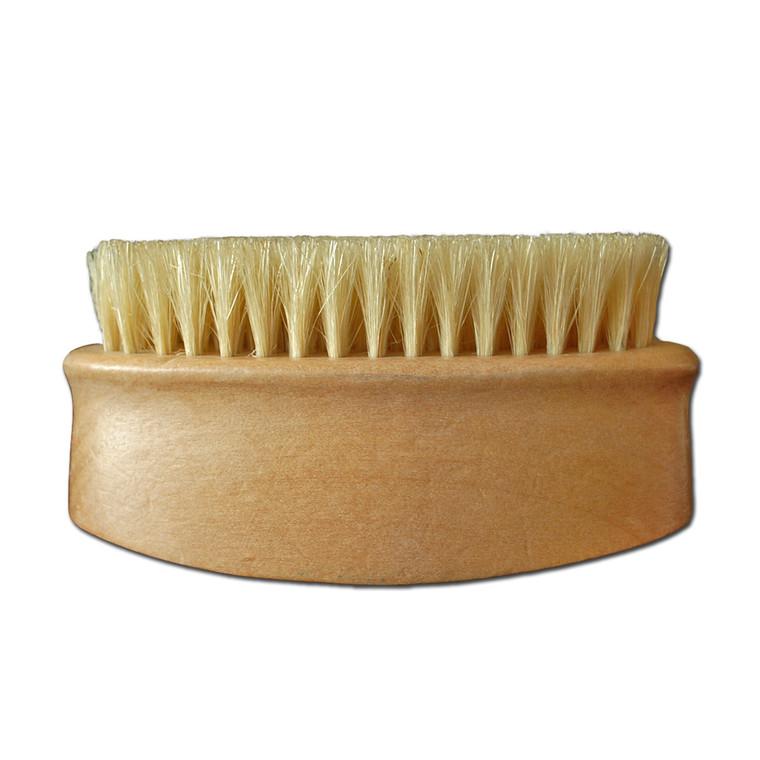 Oval Chunky boars hair body brush