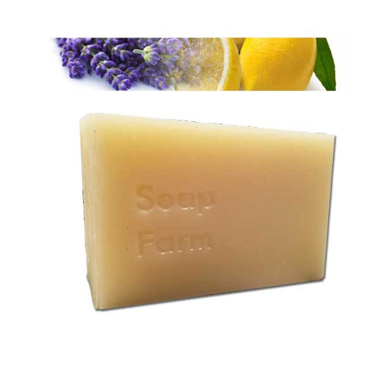 Superfat Soap Lavender-Lemon All Natural Handmade soap 6 oz bar