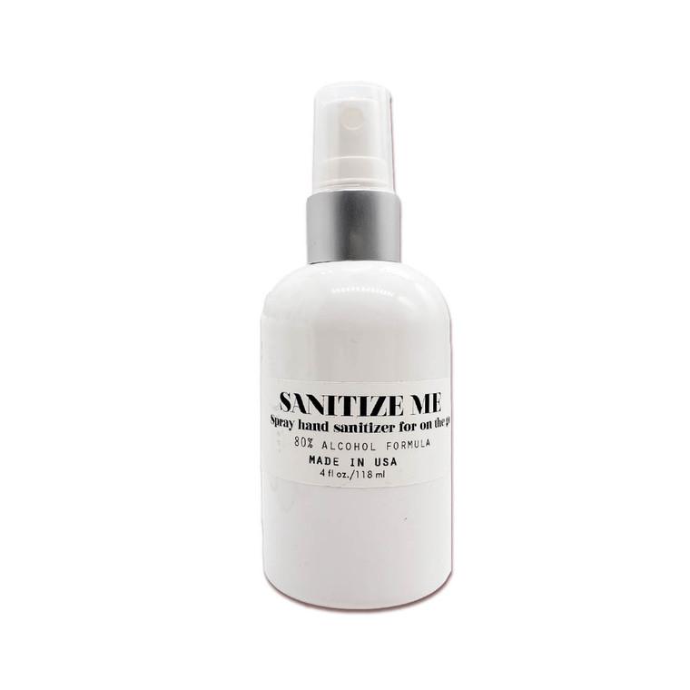 Sanitize Me 80% Alcohol Spray Hand Sanitizer, 4 oz. 2 Bottles