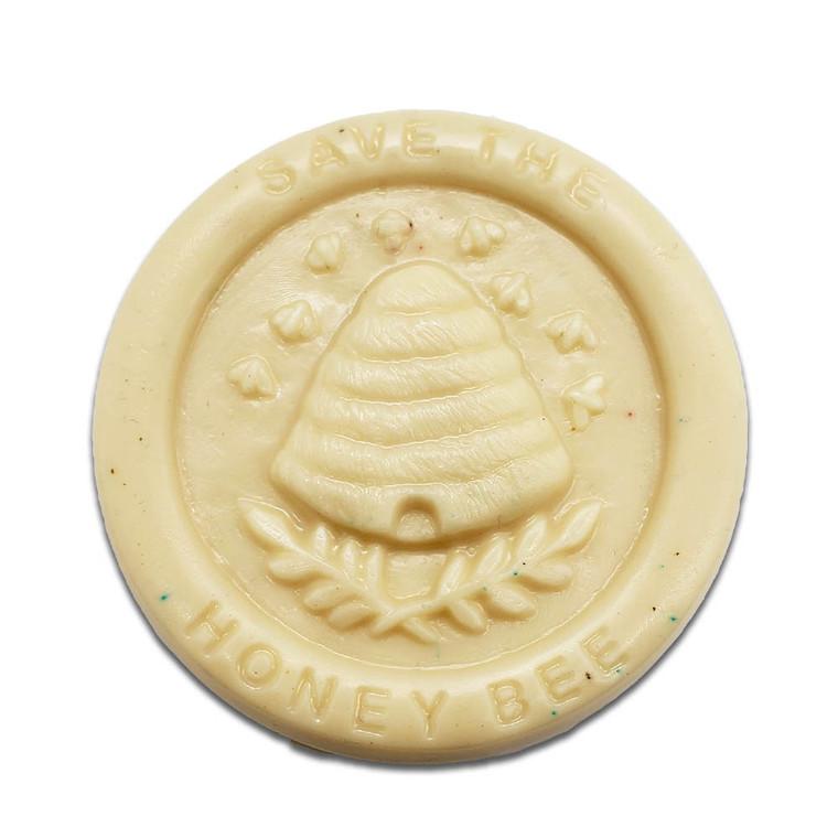 Save The Bees Handmade Soap, 3.5. oz bar, Honey, Almond, Milk scent