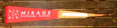 Mirage RED Safety / Over Hang Flag (improved)
