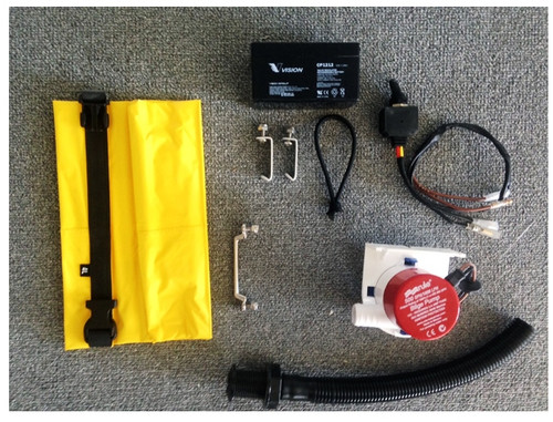 Mirage Sea Kayaks Bilge Pump - PRE MADE KIT