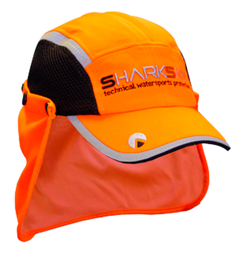 Sharkskin Paddling Cap - orange