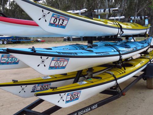MMP 2020 Single Kayak or Surfski Rental inc trailer space