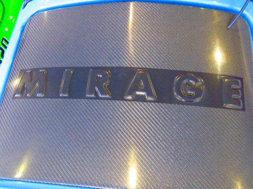 Mirage 600 Hatch Cover in Clear Coat