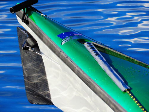 Reflective Deck Line Tape for a Sea Kayak