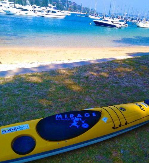 Mirage Sea Kayaks - Australian Made Neoprene Cockpit Covers