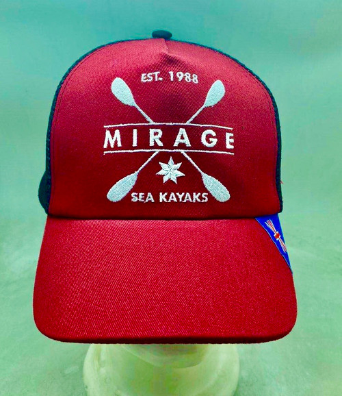 M I R A G E Sea Kayaks Trucker Cap