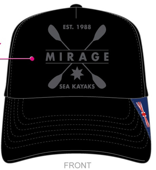 M I R A G E Sea Kayaks Trucker Cap