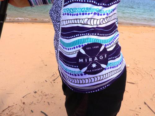Under The Garuwa sun shirt / paddling top